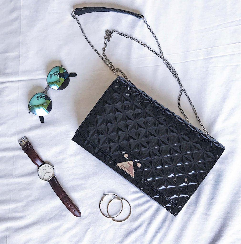 emporio armani black bag