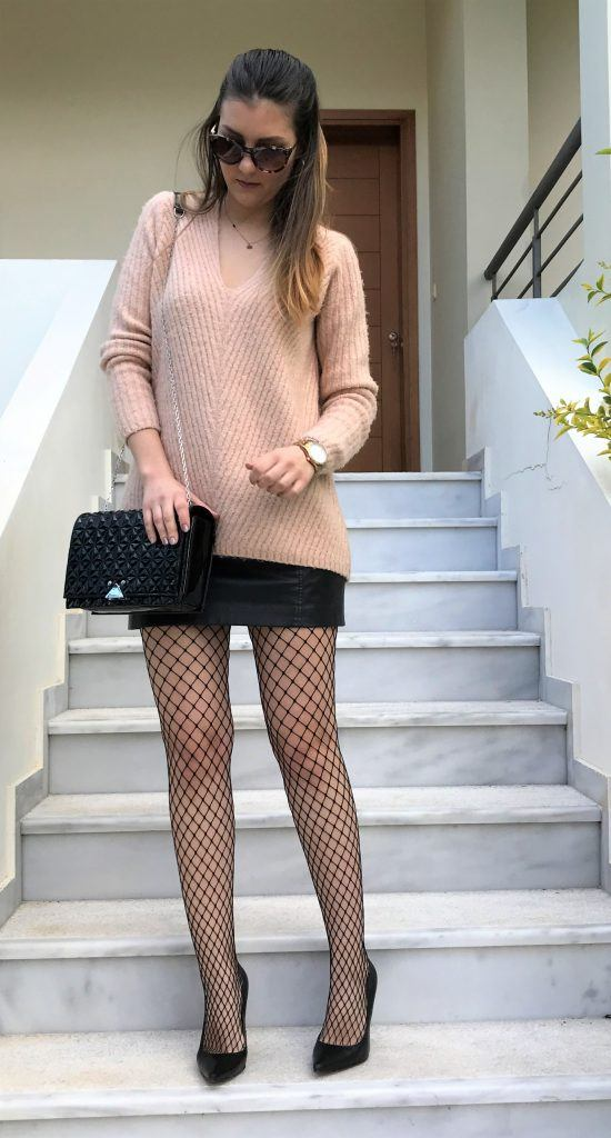 How To Wear Fishnet Tights - Fashion Advice