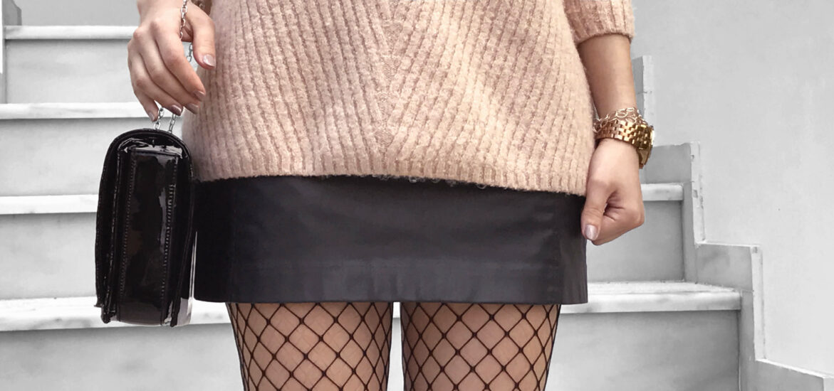 7c1c8b09128 How To Wear Fishnet Tights - Fashion Advice - Sparkle and the City