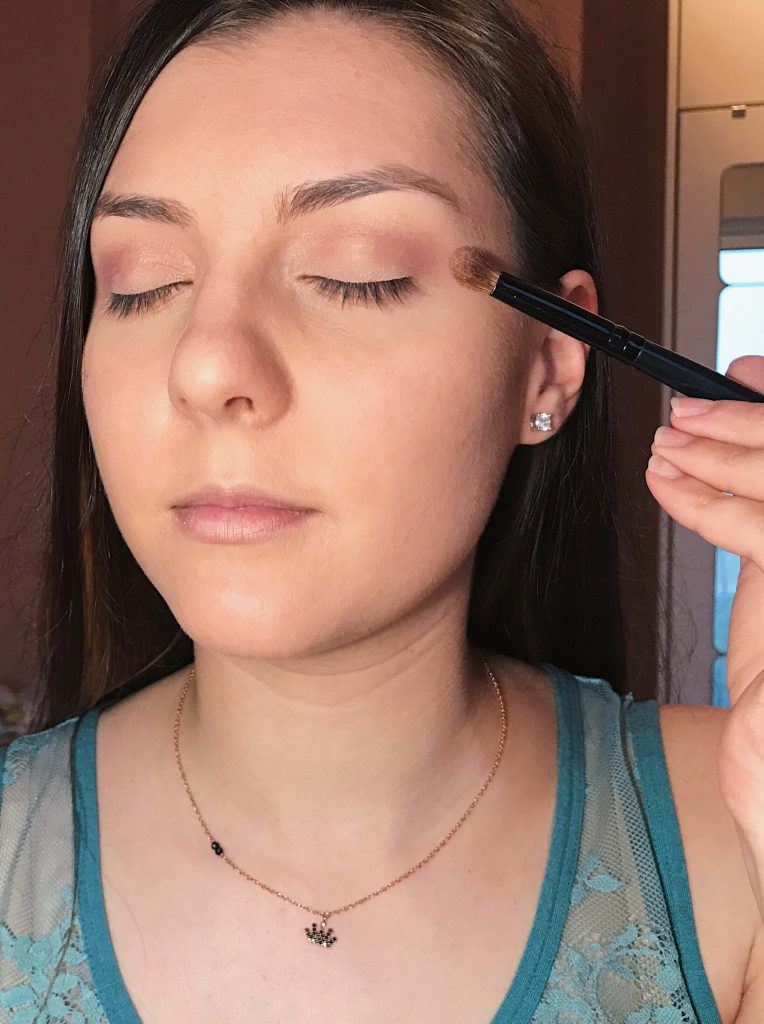 bronze makeup look tutorial