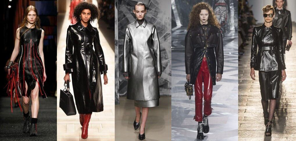 fall winter 2017 trends leather