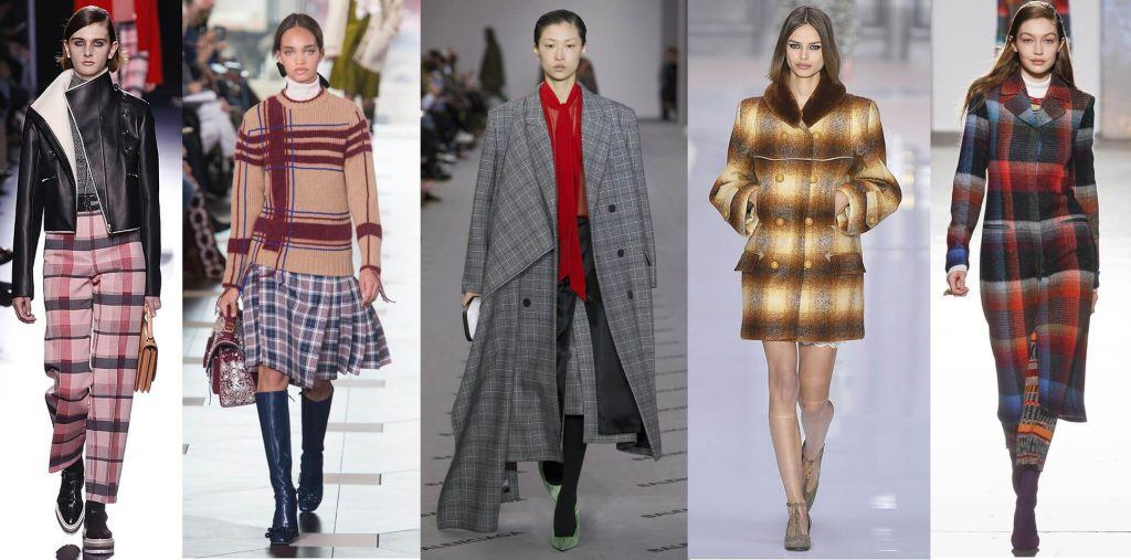 fall winter 2017 trends plaids