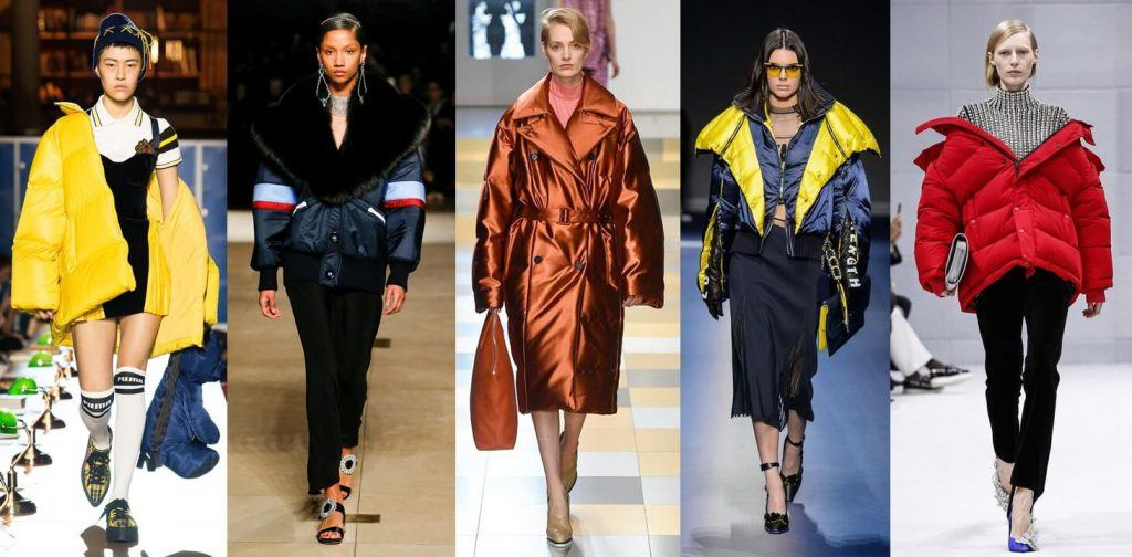 fall winter 2017 trends puffy coats
