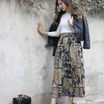 Challenge Series #1 – Vintage Midi Skirt Outfits