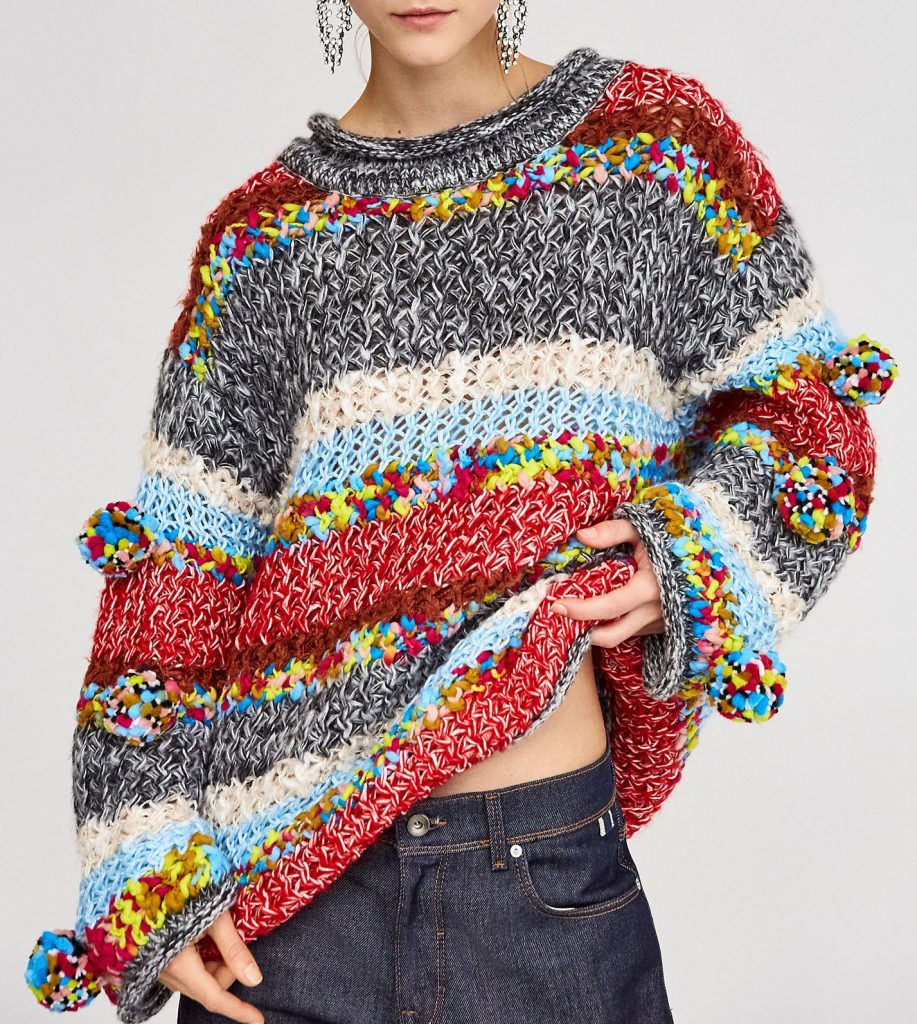 how to dress this fall boho knit