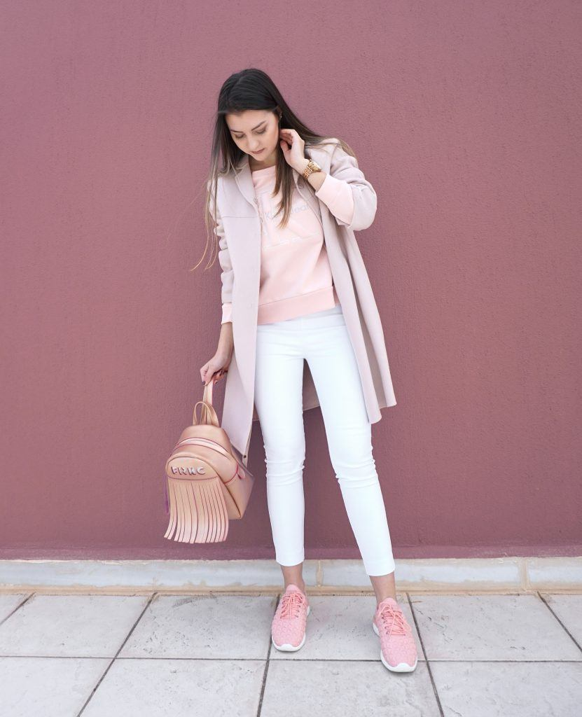 Max Mara Pink Coat