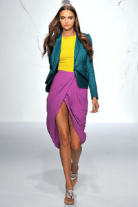 triadic color outfit