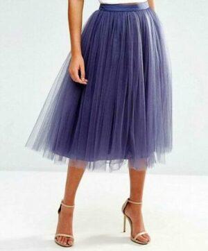purple tulle skirt