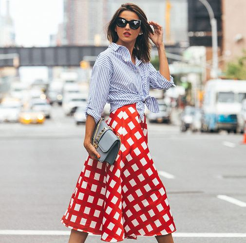 mixed prints look