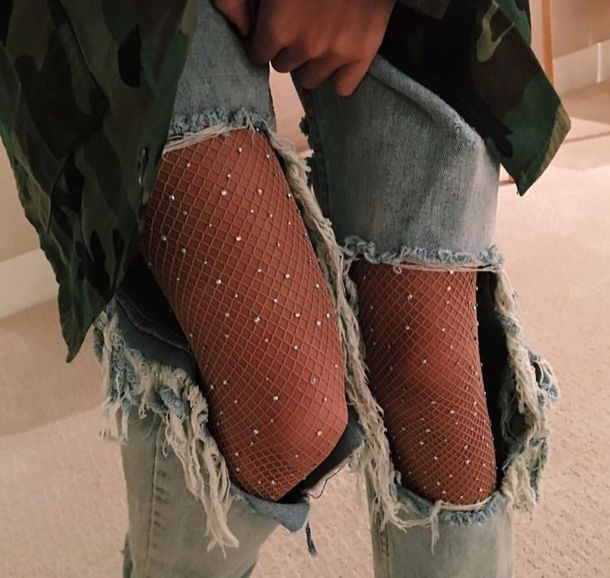 glitter tights