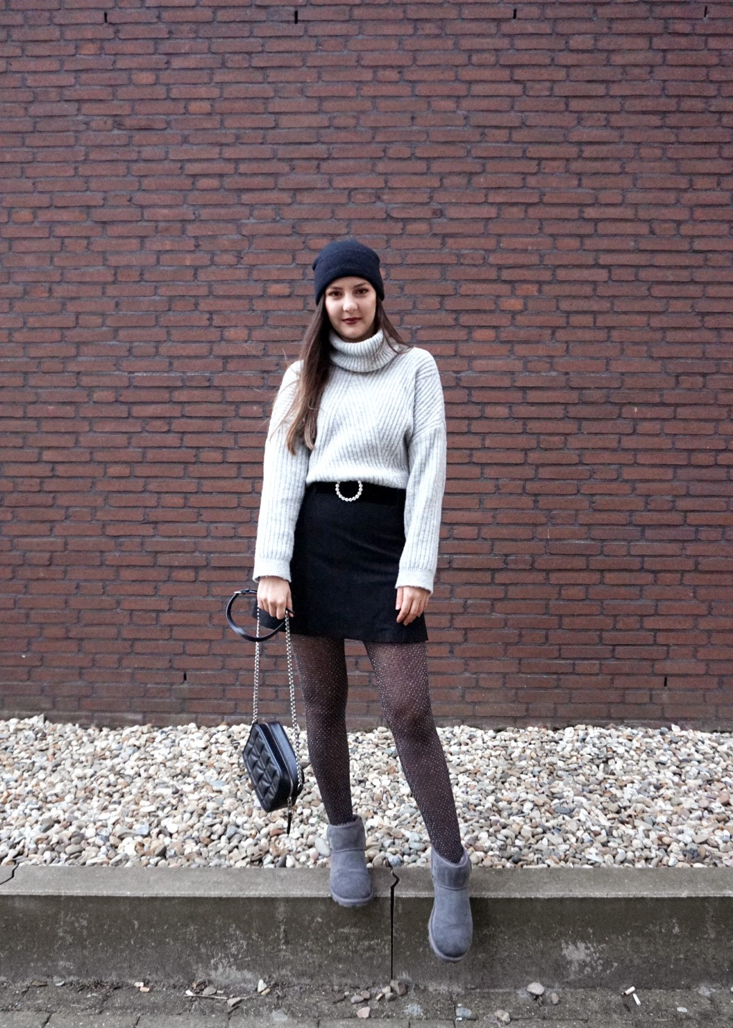 ugg boots outfit idea