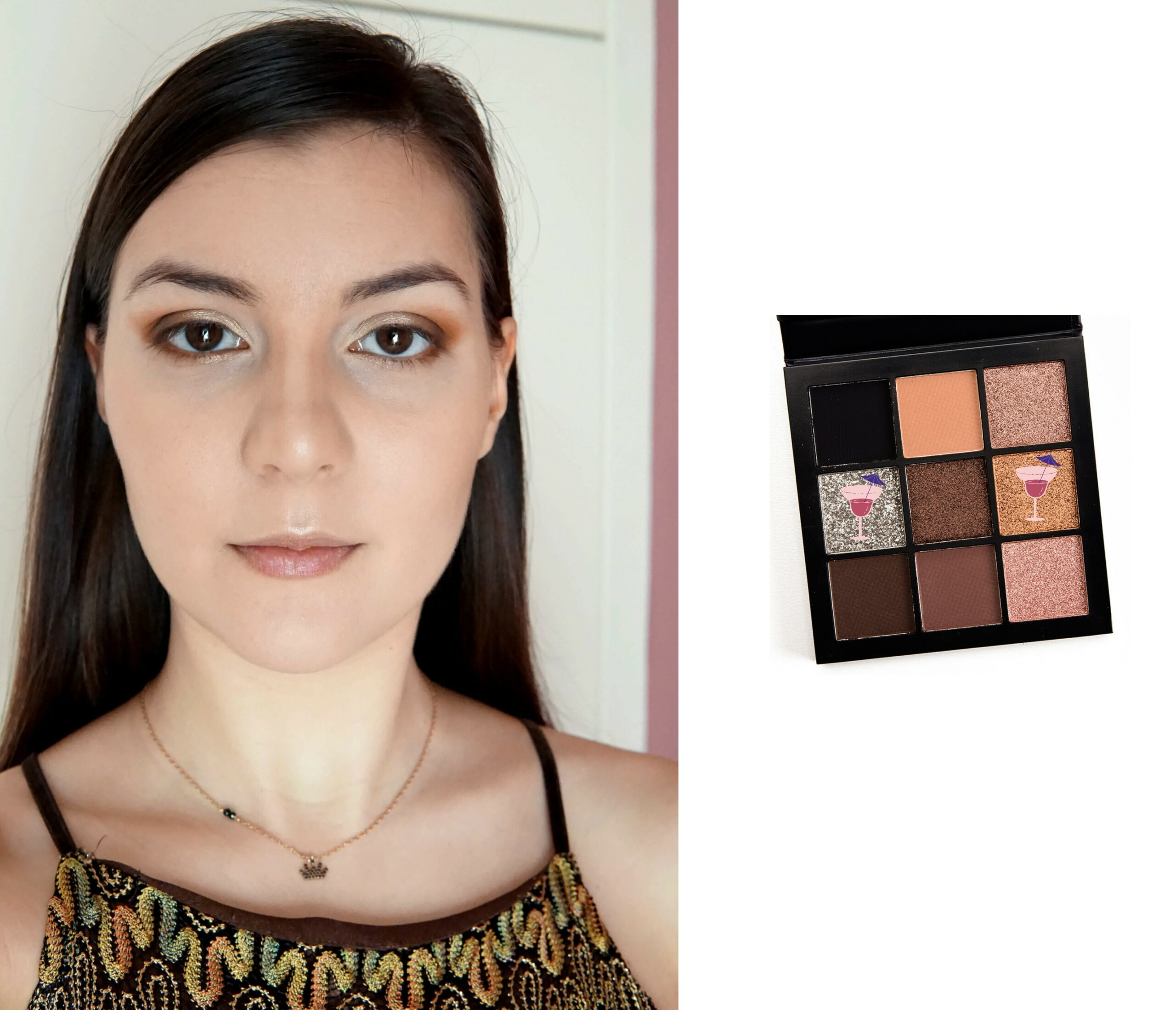 Step 6 shiny makeup look